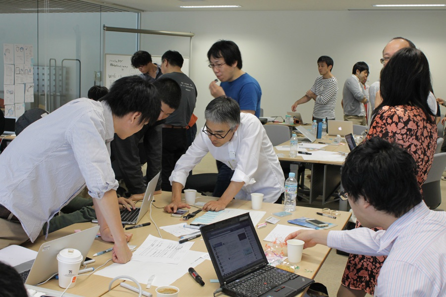 BLE Boot Campの様子